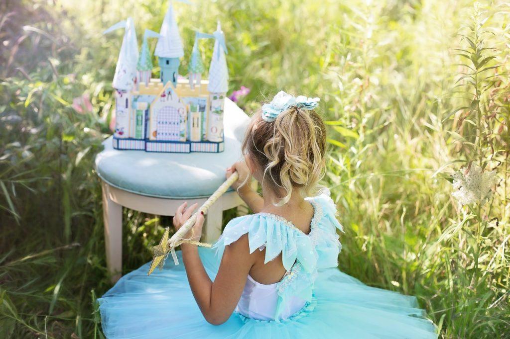 Princesse, Enfant